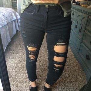 American Eagle Jeggings Crop